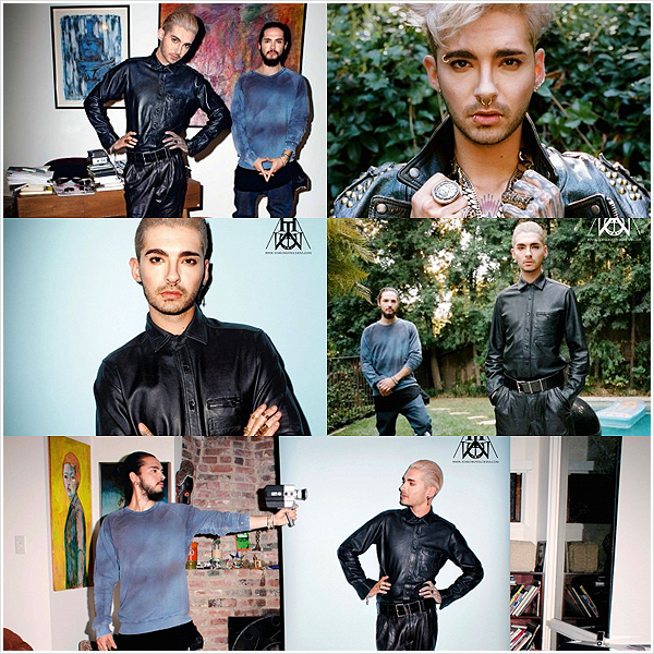 8 760 / Interview magazine photoshoot.