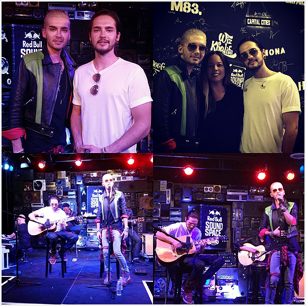 8 766 / 28.10.2014 - KROQ Radio, Los Angeles (USA).