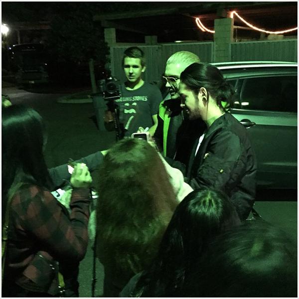 8 767 / 28.10.2014 - Devant KROQ Radio, Los Angeles (USA).