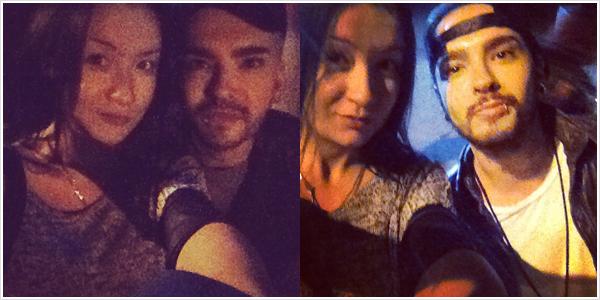8 768 / 27.10.2014 - Bill & Tom avec une fan à Los Angeles (USA).