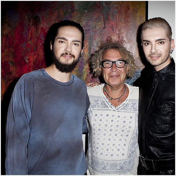 8 787 / 2014 - Tom & Bill avec Brad Elterman.