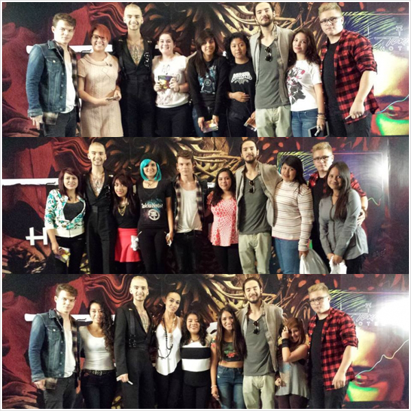 8 823 / 12.11.2014 - Meet & Greet à Mexico City (Mexique).