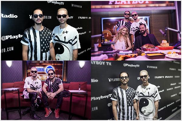 8 840 / 20.11.2014 - Playboy Radio, Los Angeles (USA).