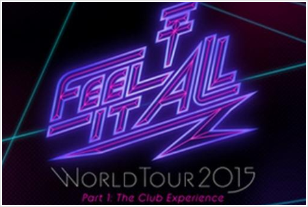 8 849 / Feel It All - World Tour 2015 - Part 1: The Club Experience.