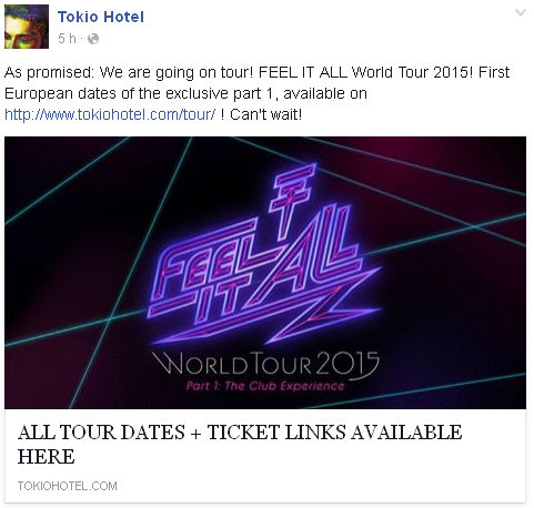 8 854 / Facebook - Tokio Hotel.