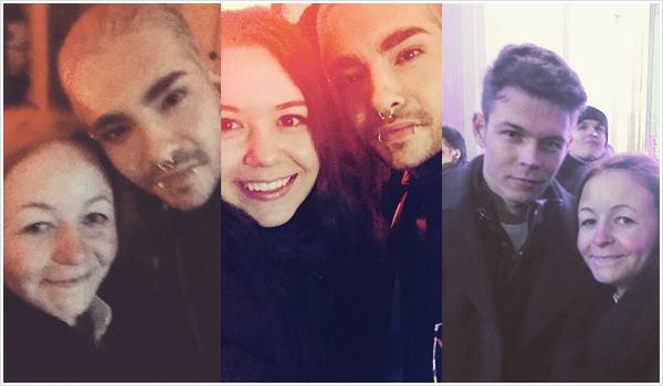 8 888 / 31.12.2014 - Bill et Georg avec des fans à Berlin (Allemagne).