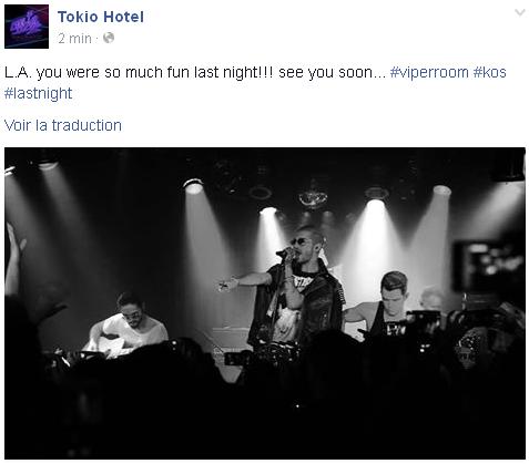 8 940 / Facebook - Tokio Hotel.