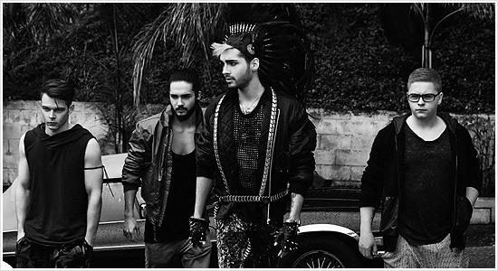 8 978 / schonmagazine.com - Interview Tokio Hotel.