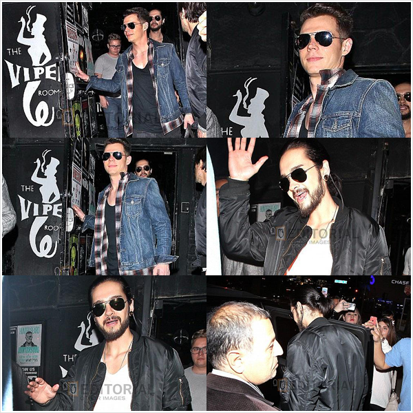 8 997 / 15.01.15 - TH quittant le Viper Room, West Hollywood (USA).
