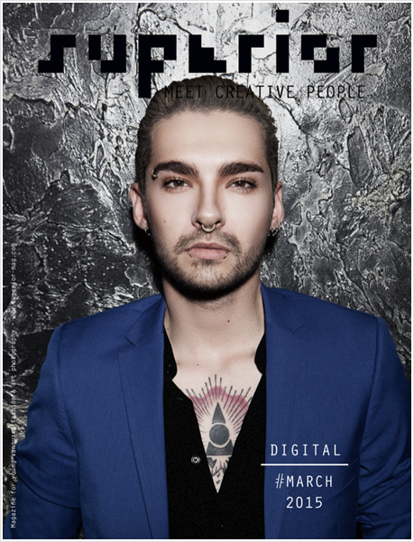 "9 006 / Bill en couverture du magazine ""Superior"" (Mars 2015)."