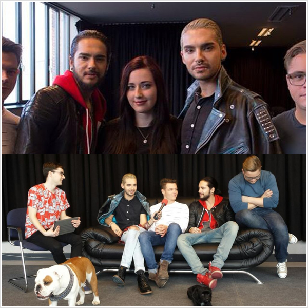 9 012 / 28.02.2015 - Interview à Berlin, Allemagne.