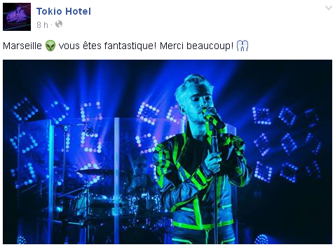9 043 / Facebook du groupe.
