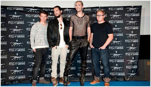 9 063 / staragora.com - Retour Tokio Hotel, le succès est au rendez-vous.