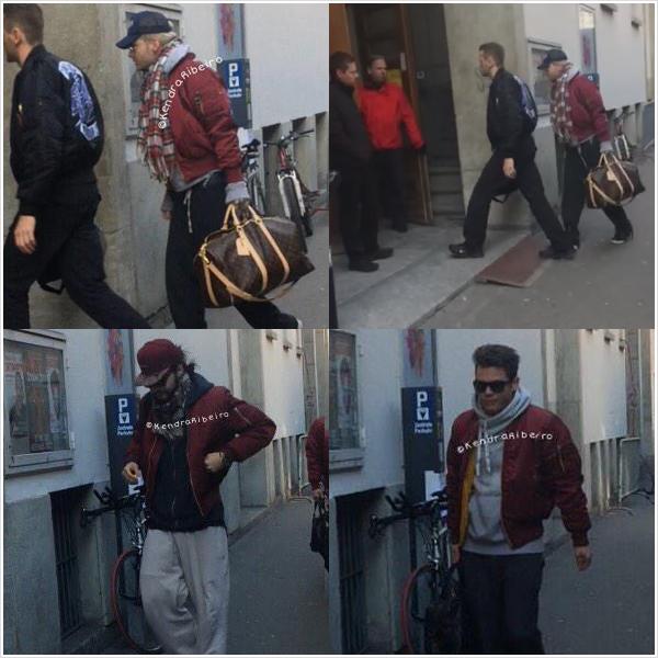 9 070 / 15.03.2015 - TH arrive à la salle, Zurich (Allemagne).