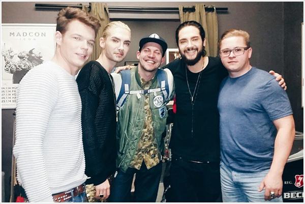 9 076 / 14.03.2015 - Backstage à Frankfurt (Allemagne).