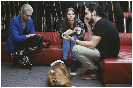 9 086 /  Noisey – Premier rendez-vous avec… Tokio Hotel.