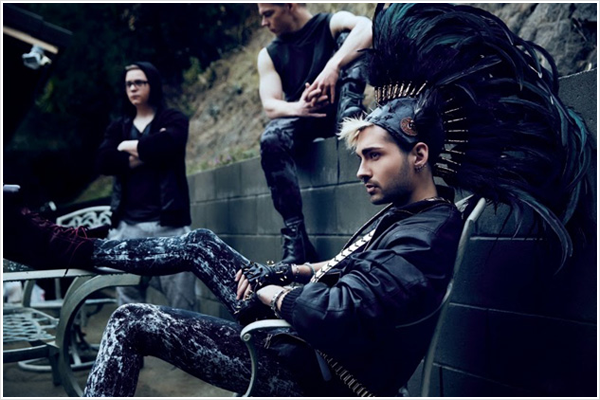 9 087 /  Advocate – Bill Kaulitz de Tokio Hotel : « L'amour n'a rien à voir avec le genre »