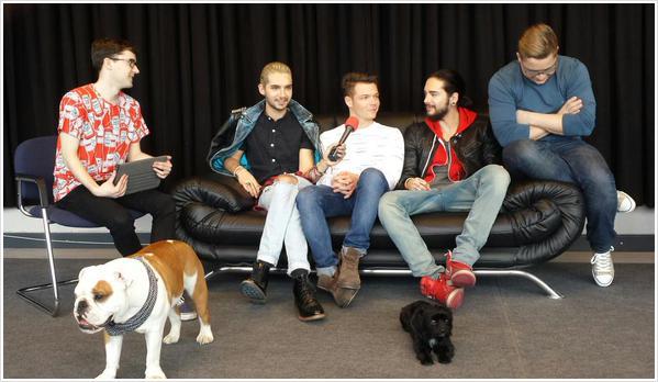 9 091/  Eska radio – Interview de Tokio Hotel par Robert Choiński.