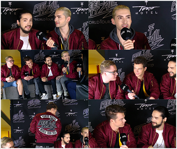 9 095 / 15.03.2015 - Joiz: Tokio Hotel Interview.