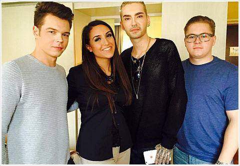 9 104 / 14.03.2015 - Interview for Big.fm, Frankfurt (Allemagne).