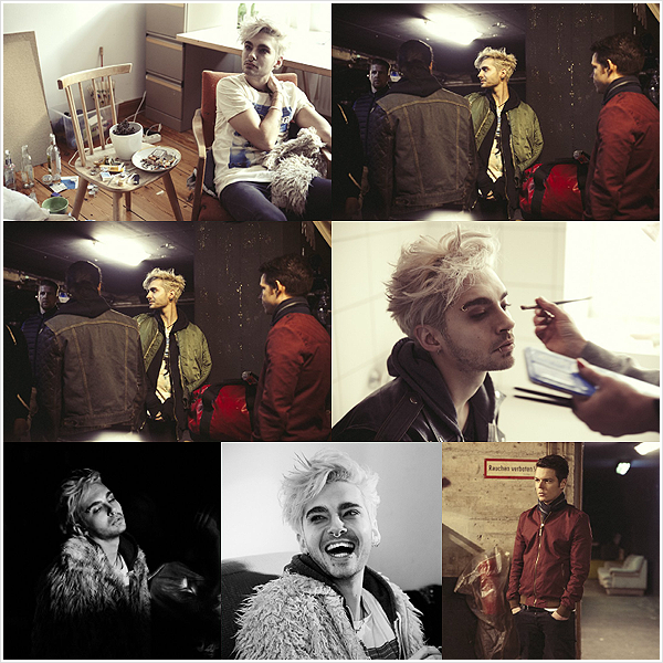 """9 150 / Tournage du clip """"Feel It All""""."""