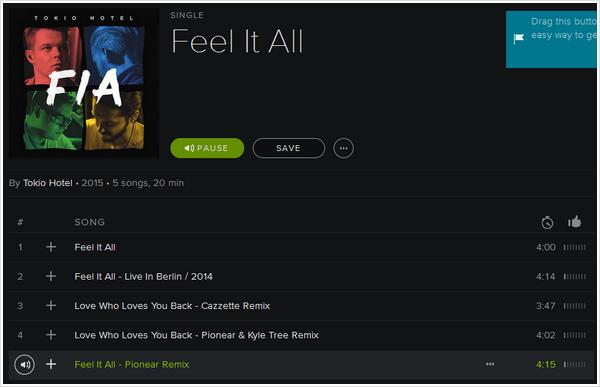 9 167 / Single Feel It All.