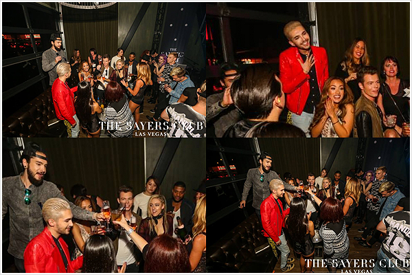 9 345 / 01.08.2015 - After Party @ Sayers Club, Las Vegas.