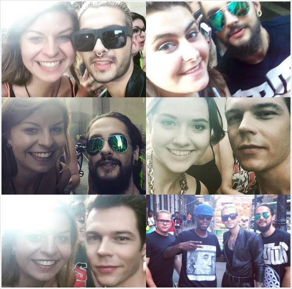 9 392 / 14.08.2015 - Avec des fans à New York.