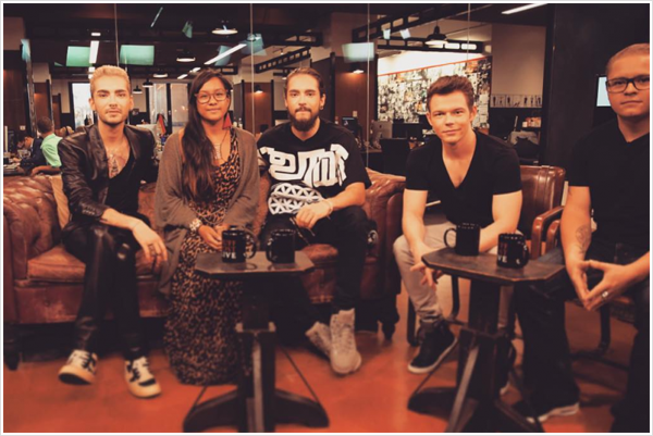 9 396 / 14.08.2015 - HuffPost Live, New York.