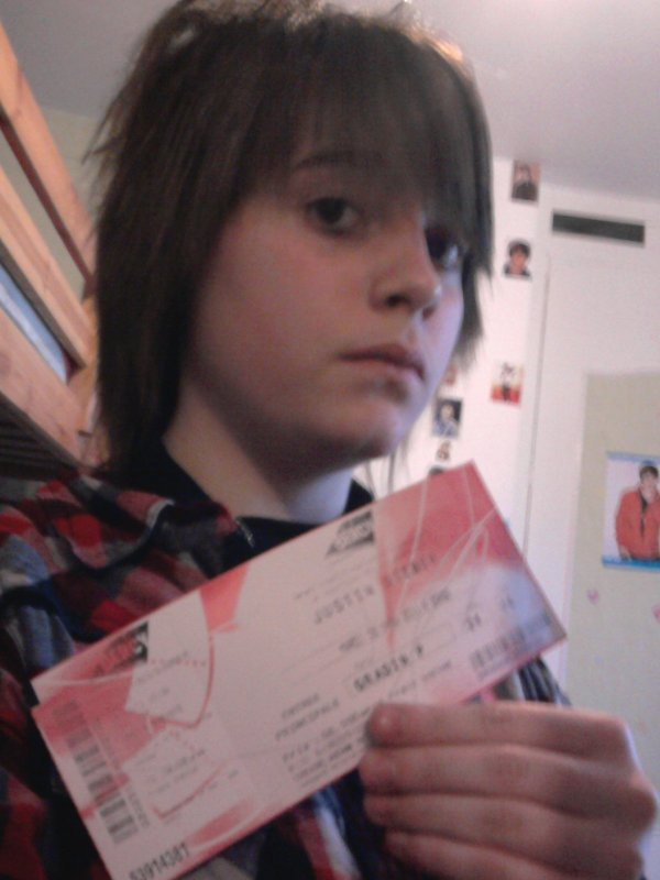 Le Concer De Justin Bieber A Paris Bercy Le 29/03/2011