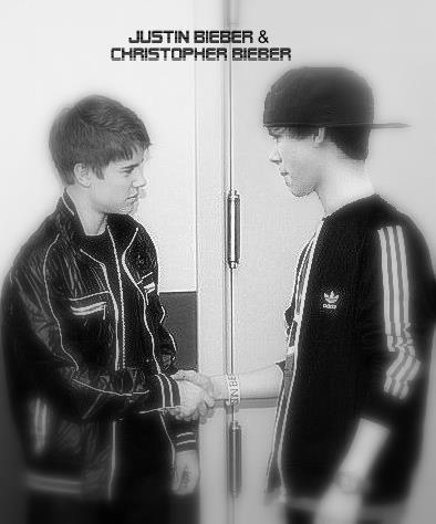 Christopher Et Justin Bieber ♡