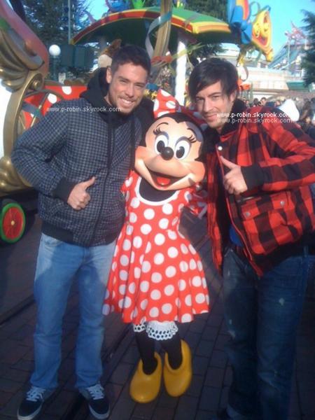 Robin et Anthony à Walt Disney.