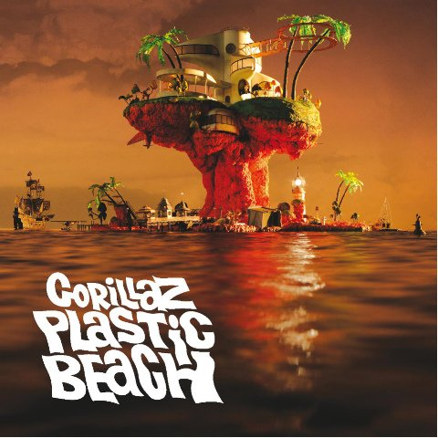 Plastic Beach / Some Kind Of Nature - Gorillaz feat Lou Reed (2012)