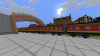 [ Minecraft ] Visite du train, le Poudlard'Express :-D