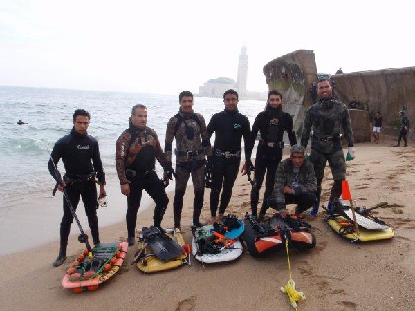 En fin notre association Atlantis  de chasse sous marine de casablanca viens de naitre