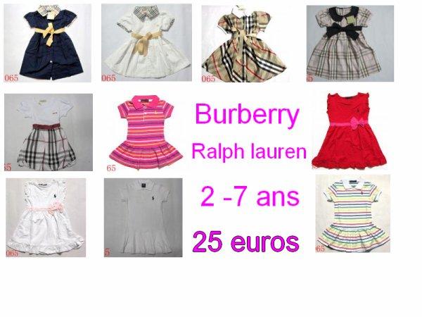 Robes bébé