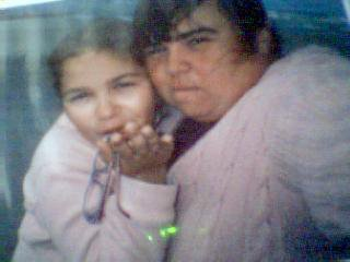 ma niece flavie et moi