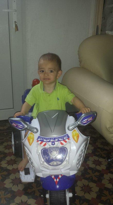 et notre grand didou sur sa moto