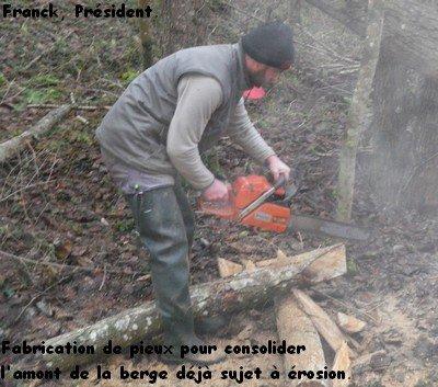 28 Janvier 2012, travaux d'hiver (partie 1)