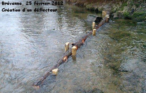 Samedi 25 février 2012 : Travaux sur la Brévenne