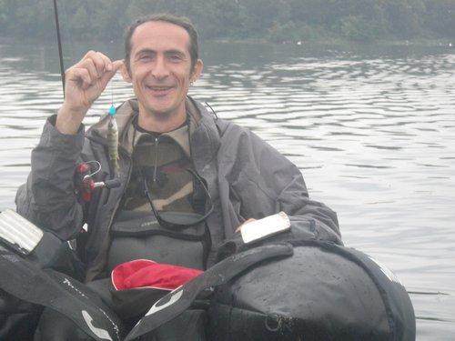 Samedi 12 Juillet 2014 – Initiation float-tube pour Cyril