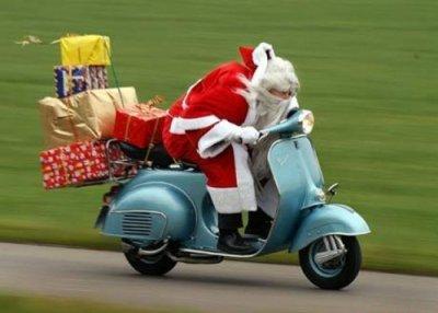 Père Noel bourré
