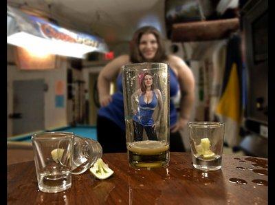 Effet de l'alcool !