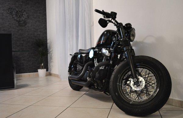 Pas de sapin de noel..... une moto