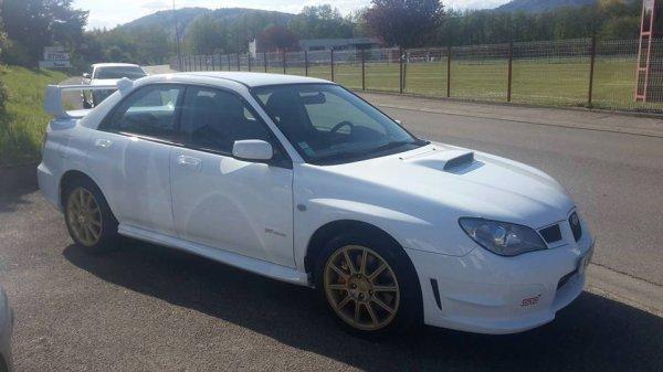 Nouvelle..... Subaru... STI