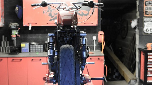 Du nouveau, fabrication du chopper