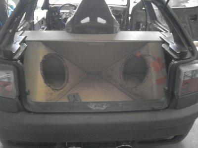 La ZX De Manu (intérieur et coffre)