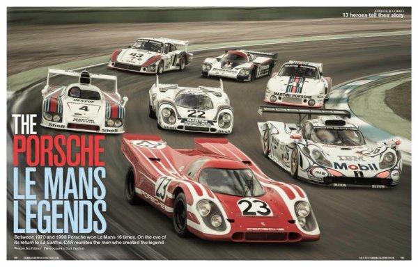 Porsche... Gt1, Lmp1... La dernière née, la 919, reprendra le flambeau cette année au 24h du Mans. Elle a déjà affrontée ses rivales Audi & Toyota sur d'autres circuits des le mans séries cette années.