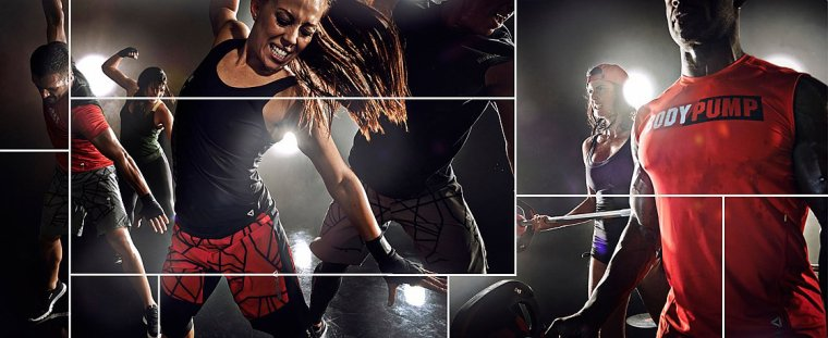 COLLECTION LES MILLS - REEBOK