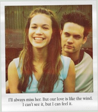 Elle lui a appris à vivre, il lui a appris à aimer .
